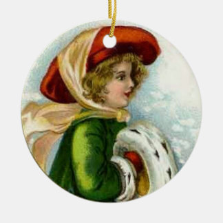 Vintage Merry Christmas Ornament