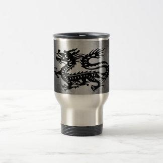 Vintage Metal Dragon Mugs