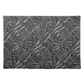 Vintage Metal Flower Wall Placemat