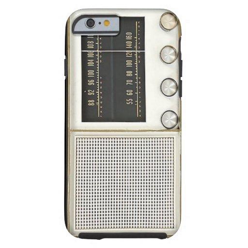 Vintage Metal Radio iPhone 6 Case