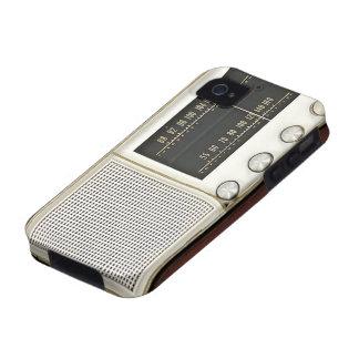 Vintage Metal Radio iPhone 4 Cover