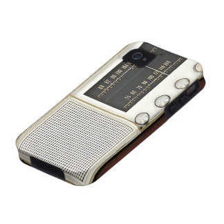 Vintage Metal Radio Case-Mate iPhone 4 Cases