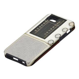 Vintage Metal Radio iPhone 5 Cover