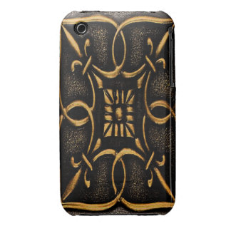 Vintage Metal Scroll Work iPhone 3 Cases