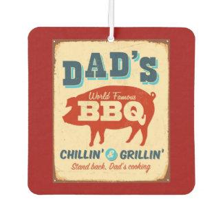 Vintage metal sign - Dad's BBQ