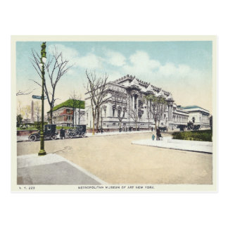 Vintage Metropolitan Museum, New York City, NY Postcard