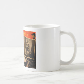Vintage Mexican Masked Hero Lobby Card Coffee Mug