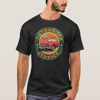 Vintage MGB service sign T-Shirt
