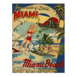 Vintage Miami Beach, Florida, USA -