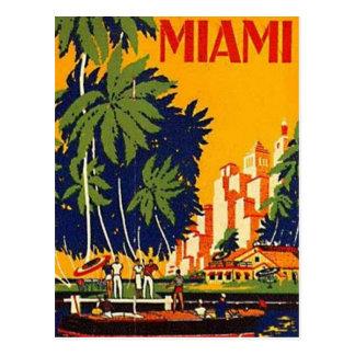 Vintage Miami Florida USA - Post Cards