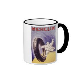 Vintage Michelin TIres Ad 2 Ringer Mug