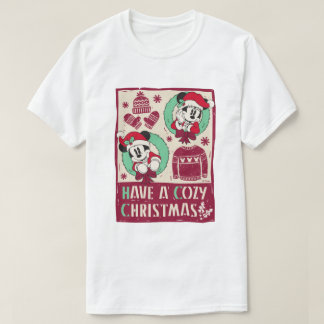 Vintage Mickey & Mickey | Have a Cozy Christmas T-Shirt