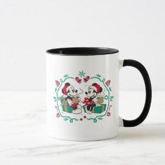 Vintage Mickey & Minnie | Cozy Christmas Mug