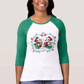 Vintage Mickey & Minnie | Cozy Christmas T-Shirt