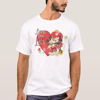 Vintage Mickey & Minnie | Love You Lots T-Shirt