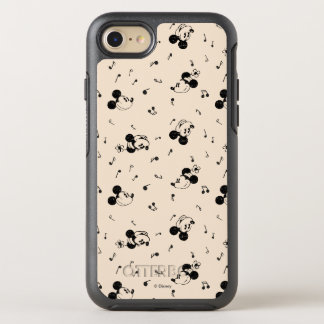 Vintage Mickey & Minnie Music Pattern OtterBox Symmetry iPhone 8/7 Case