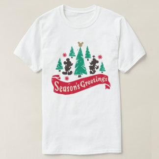 Vintage Mickey & Minnie | Season's Greetings T-Shirt