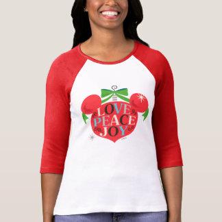 Vintage Mickey Mouse | Love, Peace & Joy T-Shirt
