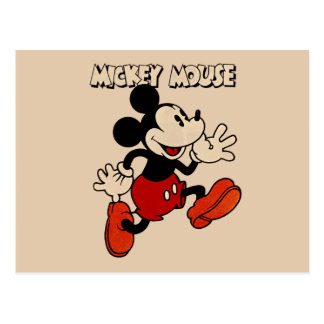 Vintage Mickey Mouse Postcard