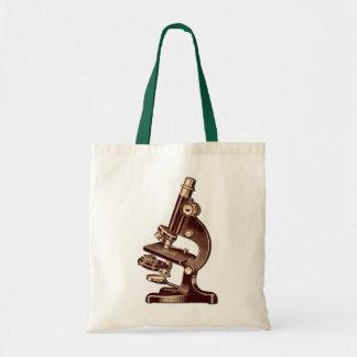 Vintage Microscope Tote Bag