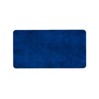 Vintage Midnight Blue Paper Parchment Template Label