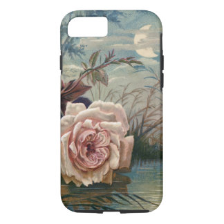 Vintage Midnight Rose and Moon iPhone 8/7 Case