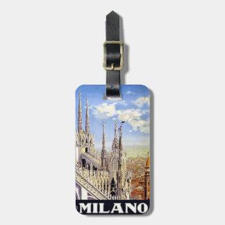 Vintage Milano Bag Tag