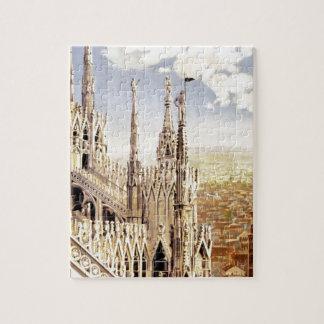 Vintage Milano Travel Jigsaw Puzzle