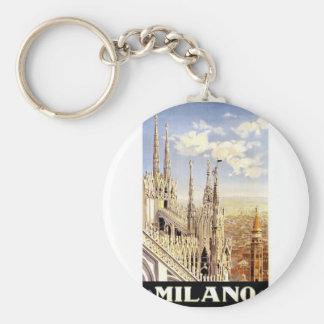 Vintage Milano Travel Key Ring