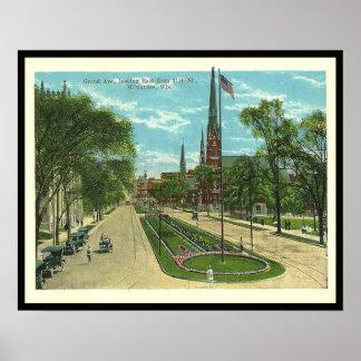 Vintage Milwaukee Poster