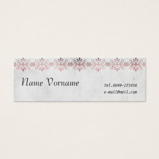 vintage mini business card