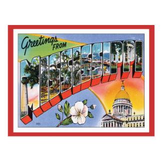 Vintage Mississippi Postcard