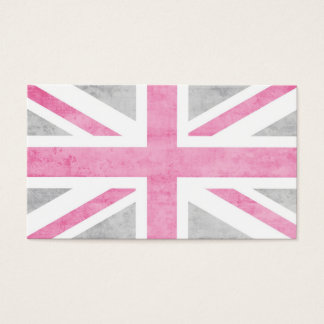 Vintage Mod Union Jack Business Card