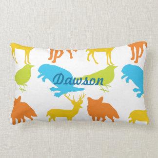 Vintage Modern Woodland Animals  Pillow
