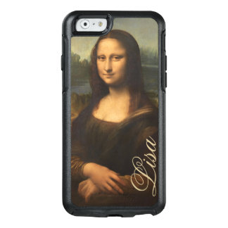 Vintage Mona Lisa Portrait with Monogram OtterBox iPhone 6/6s Case