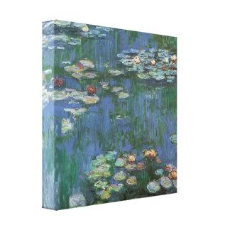 Vintage Monet Water Lilies Canvas Print