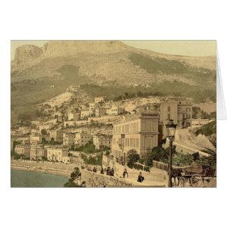 Vintage Monte Carlo, Monaco - Card
