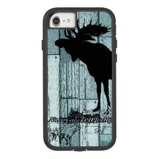 Vintage Moose and Wolf Wildlife iphone Case