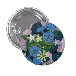Vintage Morning Glory flowers Pin