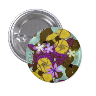 Vintage Morning Glory flowers Pins