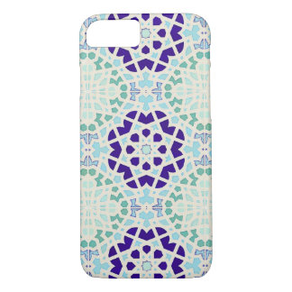 Vintage Moroccan Tile Abstract Pattern Modern Art iPhone 7 Case