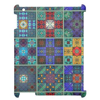 Vintage mosaic talavera ornament case for the iPad