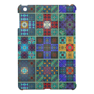 Vintage mosaic talavera ornament case for the iPad mini