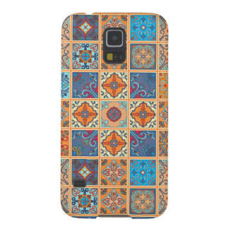Vintage mosaic talavera ornament cases for galaxy s5