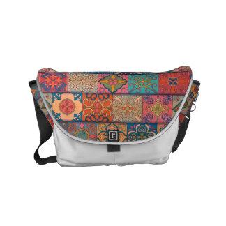 Vintage mosaic talavera ornament commuter bags
