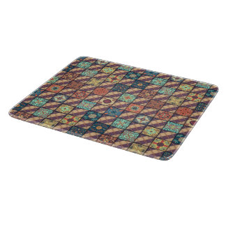 Vintage mosaic talavera ornament cutting board