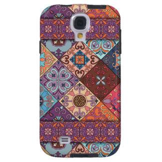 Vintage mosaic talavera ornament galaxy s4 case