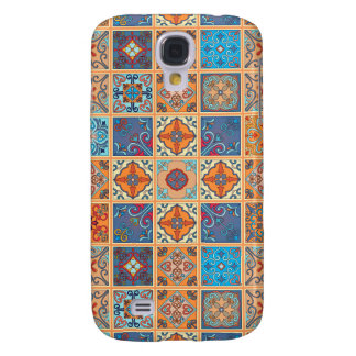Vintage mosaic talavera ornament galaxy s4 cases