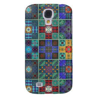 Vintage mosaic talavera ornament galaxy s4 covers
