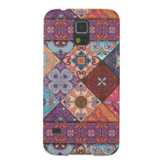Vintage mosaic talavera ornament galaxy s5 covers